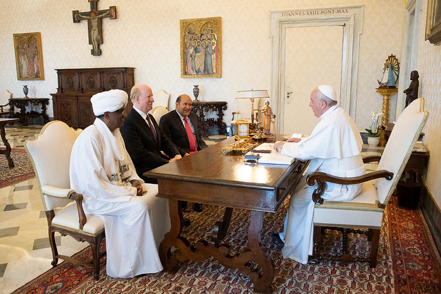 PF Delegation Meets with Pope Francis at Vatican