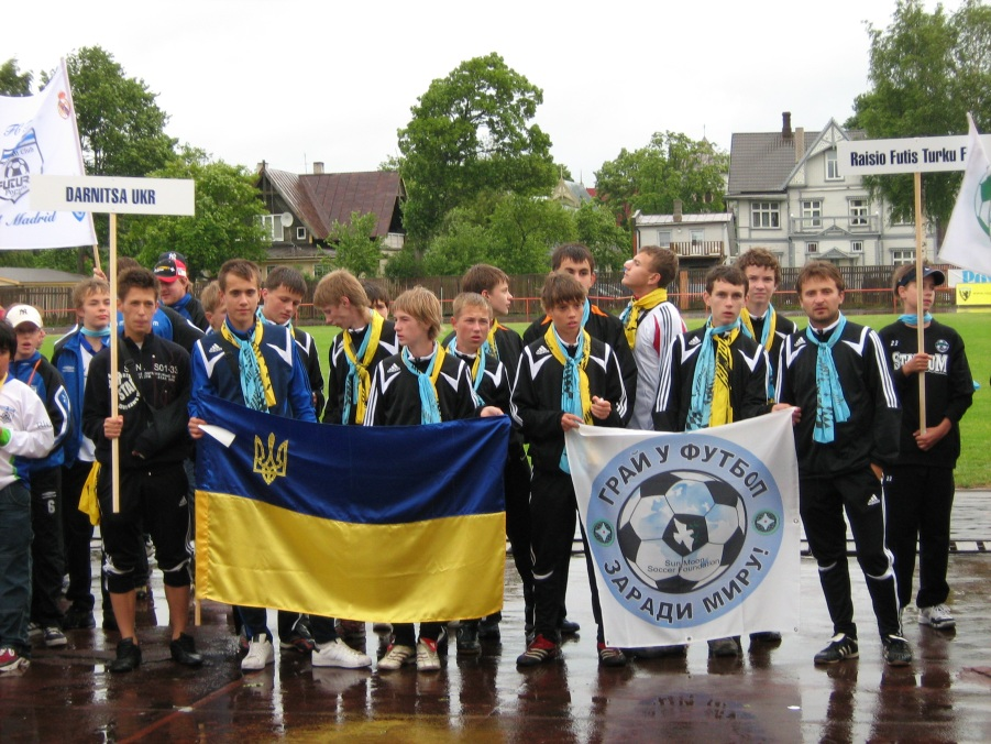 Ukrainian team in Estonia, Pyarnu, 2007