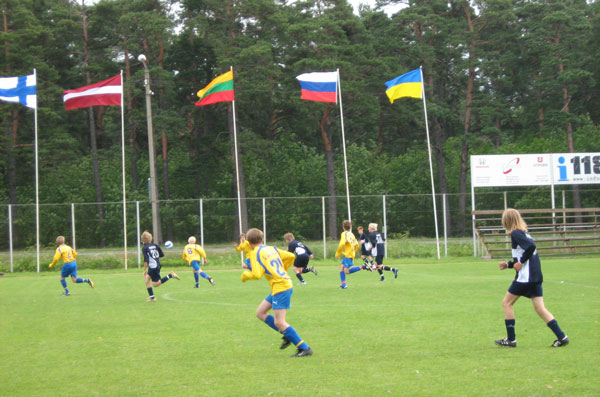 "FC ""Slavutych"", Slavutych town, Ukraine, became winner of the tournament in Estonia in 2008."